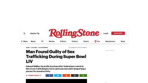 Man Found Guilty of Sex Trafficking During Super Bowl LIV Screenshot